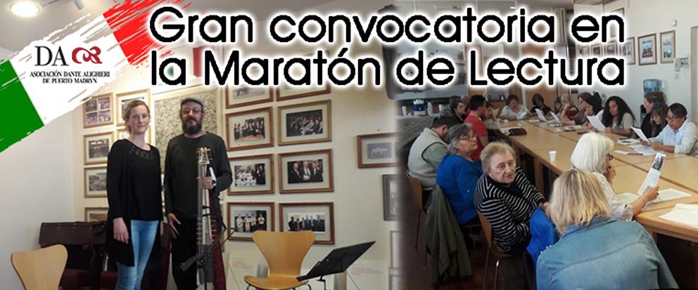 MARATÓN DE LECTURA